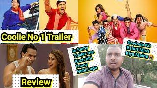 Coolie No 1 Trailer Review, Featuring Varun Dhawan And Sara Ali Khan, Govinda Kahaan? Surya Reaction
