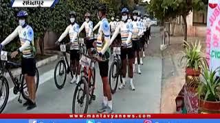 ભારતીય સૈન્ય કોણાર્ક કોર્પ્સની કચ્છથી નીકળેલી સાયકલ રેલી રાધનપુર પહોંચી