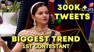 Bigg Boss 14: Rubina Ne Banaya Ek Aur Record, 300K + Tweets Ka Biggest Trend, 1st Contestant