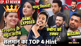 Bigg Boss 14 Review EP 57 | Rubina In Top 4, Jasmin Exposed, TOP 4 Finalist Hint, Rahul ???? Aly Goni ????