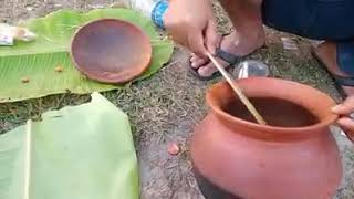 Bodo style Chiken boil cooking