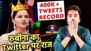 Bigg Boss 14: Rubina Fans Ne Banaya Ek Bada Record, BB 14 Ki 1st Contestant With 400K+ Tweet