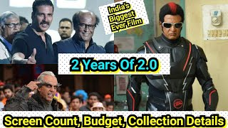 India's Biggest Ever Film 2.0 Completes 2 Years, Akshay Kumar Rajinikanth Film Collection Details