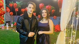 Asim Riaz And Himanshi Khurana Together On Himanshi's Birthday Celebration In Dubai