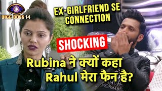 Bigg Boss 14: Shocking! Rubina Ne Kyon Kaha Rahul Vaidya Mera Fan Hai   Ex Girlfriend Se Connection