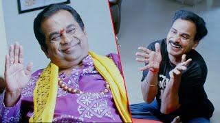 Brahmanandam & Venu Madhav Hilarious Comedy | Police Dada Movie Scenes | Sonu Sood