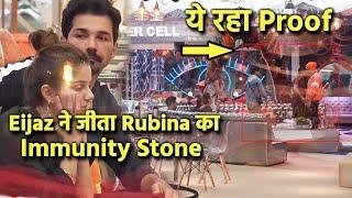 Bigg Boss 14 Breaking News: Eijaz Khan Ne Jeeta Rubina Ka Immunity Stone, Ye Raha Proof