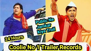 Coolie No 1 Trailer Views Records In 24 Hours, Social Media Par Public Ne Jamkar Kiya Troll
