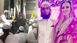 Sana Khan & Anas Sayied Nikkah Ceremony in Masjid | Maulana Ahmad performed the Nikkah