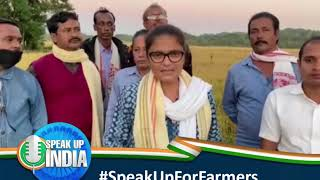 किसान आज सड़कों पर विरोध कर रहे हैं लेकिन पीएम को किसानों के प्रदर्शन से कोई फर्क नहीं पड़ रहा