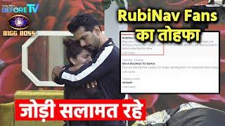 Bigg Boss 14: Rubina Aur Abhinav Fans Ne Diya Bada Tohfa, RubiNav Forever Hua Trend