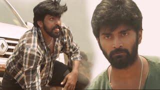 Atharvaa Best Action Scene | Duster 1212 Malayalam Scenes | Atharva | Mishti | Anaika