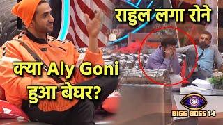 Bigg Boss 14: Aly Goni Kya Hua Beghar? Rahul Vaidya Lage Rone | Live Feed Update