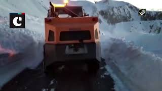 Snow Clearance Underway At Historical Mughal Road In J&K | Catch News