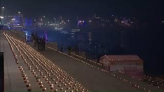 PM Shri Narendra Modi pays tribute to Saint Ravidas in Varanasi, Uttar Pradesh