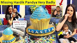 Natasa Stankovic Missing Hardik Pandya Very Badly As Son AGASTYA turns 4 Months Old