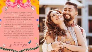 Gauhar Khan Aur Zaid Ka Marriage Card, 25 December Ko Hai Shaadi