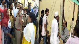 BJP Contested MLA Shehzadi Begum Vs Aimim | Jangammet Hyderabad |@Sach News