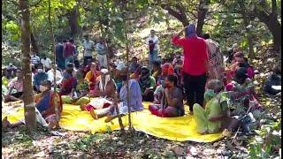 Uproar in Mopa against Govt for 'fooling' them, demand proper compensation