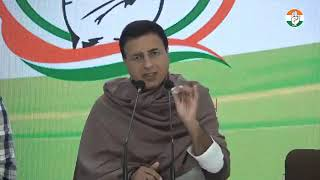 Randeep Singh Surjewala addresses media at AICC HQ