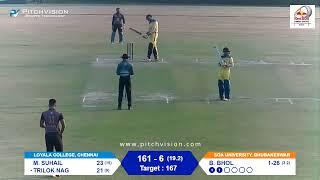 Red Bull Campus Cricket 2020 India Finals: Chennai vs Bhubaneswar