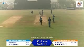 Red Bull Campus Cricket 2020 India Finals: Jaipur vs Bengaluru