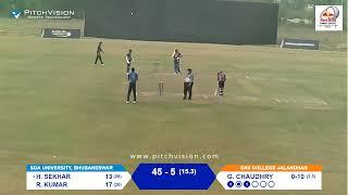 Red Bull Campus Cricket 2020 India Final : Bhubaneswar VS Jalandhar