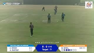 Red Bull Campus Cricket 2020 India Finals: Jalandhar vs Bhubaneswar