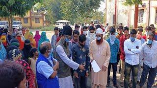 हापला-दीपला की घटना के विरोध में मुस्लिम समाज ने ज्ञापन सौंपा,  Khandwa Hapla Deepla News