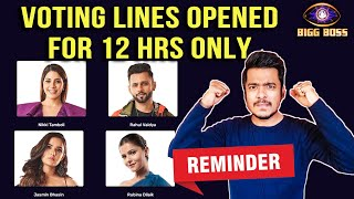 Bigg Boss 14: Finale Se Kiska Hoga Patta Cut? Reminder VOTING LINES Opened For 12 Hours Only