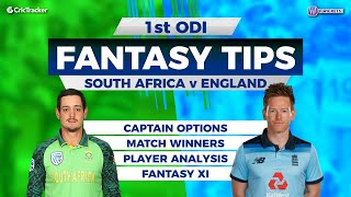 SA vs ENG first ODI Match 11Wickets Team, SA vs ENG Full Analysis, ENG Tour of SA 2020