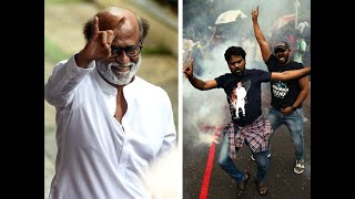 Tamil Nadu: Rajinikanth's fans burst crackers as Thalaivar announces party's launch in January