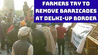 'Delhi Chalo' Protest: Farmers Try To Remove Barricades At Delhi-UP Border | Catch News