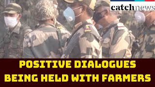'Positive Dialogues Being Held With Farmers,' Says Outer North-Delhi DCP | Catch News