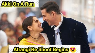 Akshay Kumar Begins Atrangi Re Shoot From Today, Akki On A Run To Complete His Upcoming Films