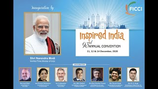 FICCI's 93rd Annual Convention on the theme #InspiredIndia