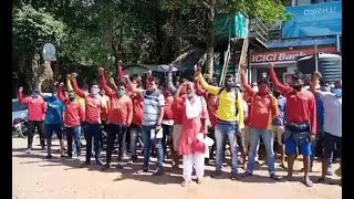 LifeGuards   For how long these lifeguards will protest? Goa govt turning blind eye to these men?