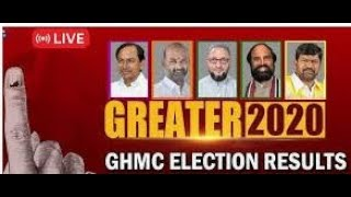 GHMC ELECTION RESULT Result announced for 150 seats: #AIMIM 43 trailing #TRS56 #BJP49 Cong2