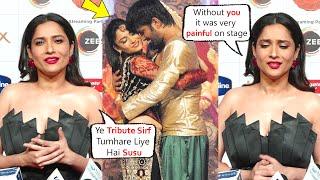 Ankita Lokhande Dance Tribute To Sushant Singh At Zee Rishtey Awards 2020 Says It's Very Painful