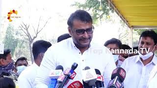ಈ ಜಾಗ ನಮಗೆ ದೇವಸ್ಥಾನ ಇದ್ದಂಗೆ  |  D Boss Darshan about Ambareesh | Top Kannada TV