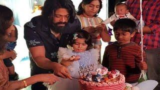 Ayra 2nd birthday celebration video | Ayra Yash | Yash | Radhika Pandit