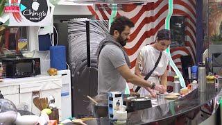 Bigg Boss 14 Live Feed: Jasmin Ke Sath Lunch Banane Me Manu Punjabi Ko Kyon Aa Raha Hai Gussa