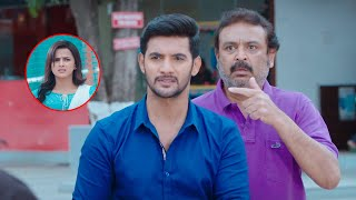 Aadi Fight with Goons in Front of Shraddha's Father | Jodi Movie Scenes Malayalam | Shraddha Srinath