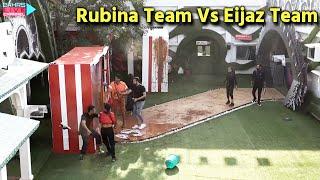 Bigg Boss 14: Nomination Task Mud Shop House | Team Rubina Vs Team Eijaz, Kaun Hai Kiske Team Me