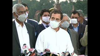 Farmers' protest: Oppn leaders meet Prez Kovind over farm laws, Rahul Gandhi questions Govt's intent