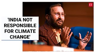 Javadekar says India walking the talk on climate commitments; emission intensity reduced by 21%   ET