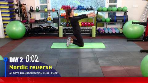 Fit with Jen || Day 2 || 90 Days Transformation Challenge || @8AM Daily on Dainik Savera TV