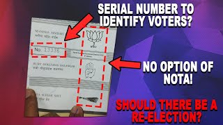 ReElections | Ballot paper with serial number and without NOTA should ZP elections be cancelled?