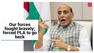 Our forces fought bravely; forced PLA to go back: Rajnath Singh at FICCI AGM