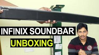 Infinix Snokor Soundbar Unboxing Telugu